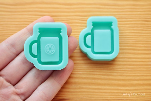 Lil' Mason Jar Drink (Backed Shaker) Silicone Mold