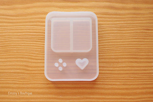 Clear Game Console Flexible Shaker Silicone Mold