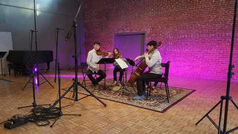 Arts Laureate Recordings, Chistian Amonson, Omer Quartet