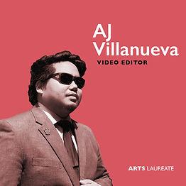 AJ Villanueva, Arts Laureate Recordings