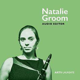Natalie Groom clarinet, Arts Laureate Recordings