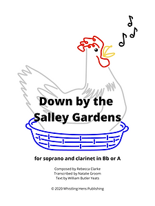 Down by the Salley Gardens Sheet Music C