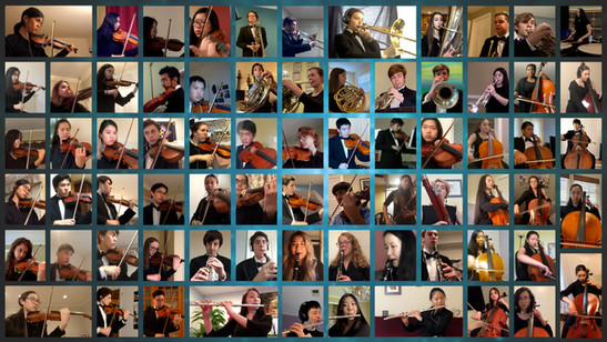 Arts Laureate Recordings, Virtual Orchestra, Potomac Valley Youth Orchestra