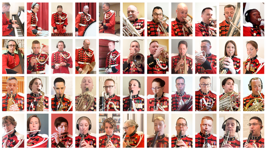 Arts Laureate Recordings, Virtual Band, President's Own US Marine Band