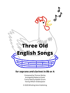 Three Old English Songs Sheet Music Cove