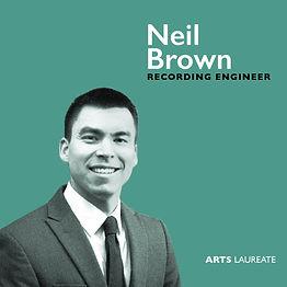 Neil Brown, Arts Laureate Recordings