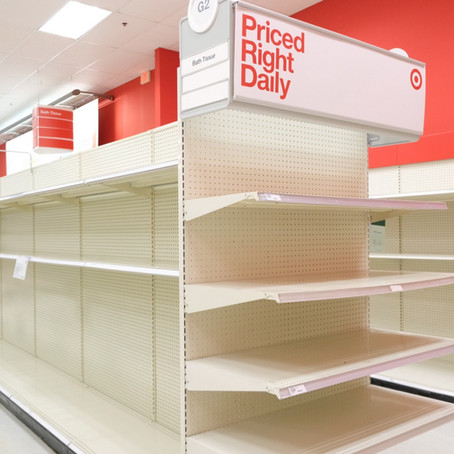 Why the shelves are empty of TP.