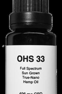 OHS 33 CBD Oil 1/2 oz - 15 ml