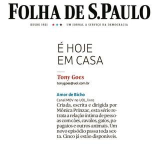 Folha da São Paulo - 10/07/2020