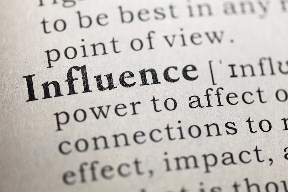 "The definition of influence in the dictionary states, ""Influence is a lot more complicated than political bribery."""