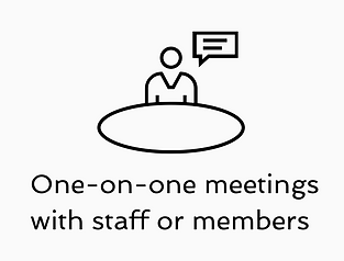 Lobbysts meet one-on-one with congressional staffers and members of Congress
