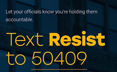Resist Bot, and other automated tools to contacting Congess, are not effective ways to Contact Congress