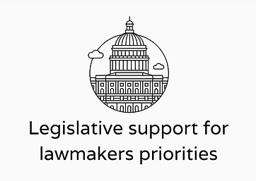 Lobbyists give legislative support for lawmakers