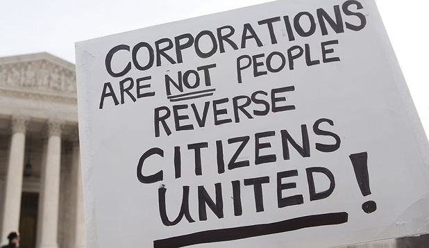 Corporations are not people, rverse citizens united. This a lobbying campaign to hire a lobbyist to lobby Congress to reverse citizens united