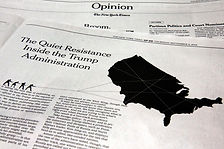 New york times opinion section about President Trumps administration