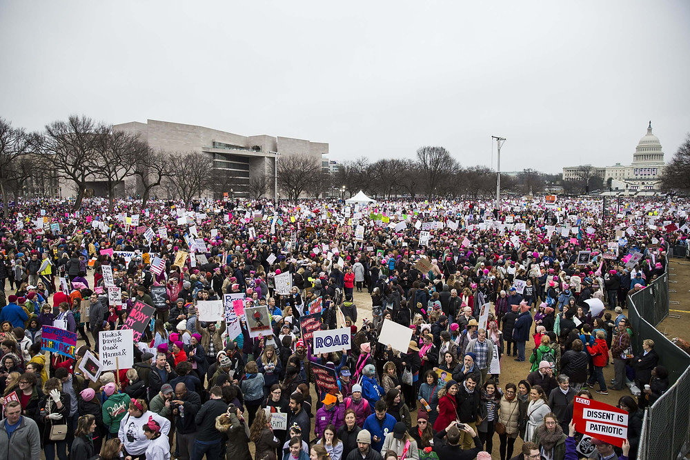 The Women's March on Washington was the largest demonstration in the history of the United States