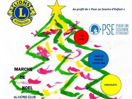 Marché de Noël 29-30 novembre 2019