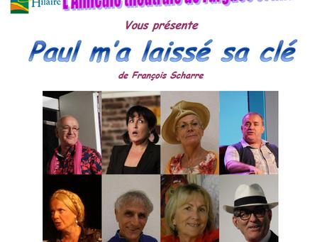 Théâtre à Fargues le 13 janvier