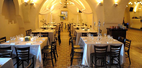Photo of handsome restaurant.