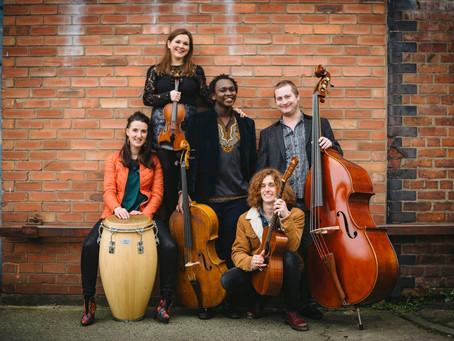 Making Manchester interview 2 - Kabantu, world music quintet