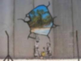 """Palestine Wall"" by Banksy"