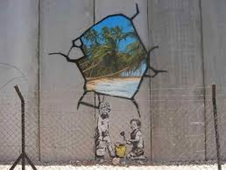 """Palestine Wall"" by Banksy"