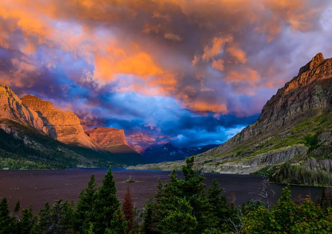 St. Mary Lake Sunrise 1