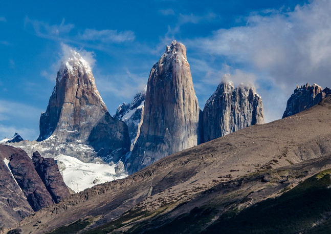 Mt. Fitz Roy Afternoon