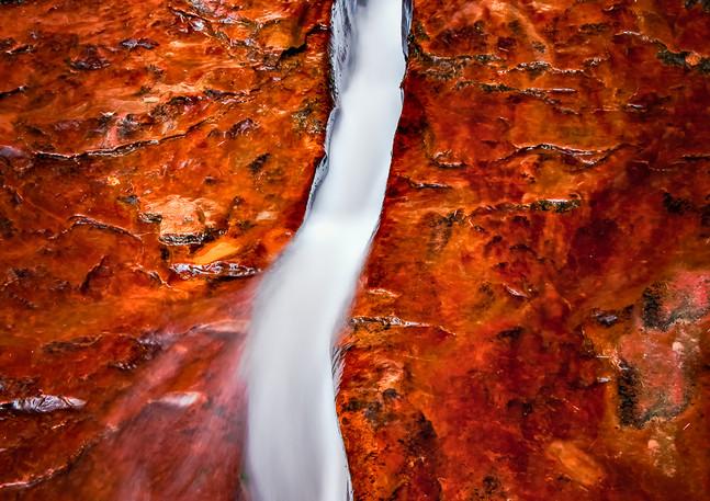 Crack in the Rock Cascade