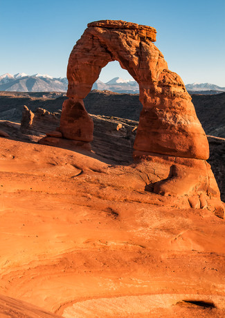 Delicate Arch Golden Hour