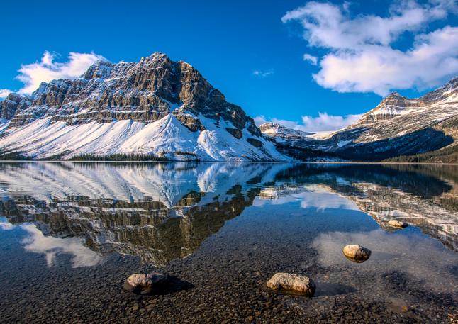 Bow Lake Reflection