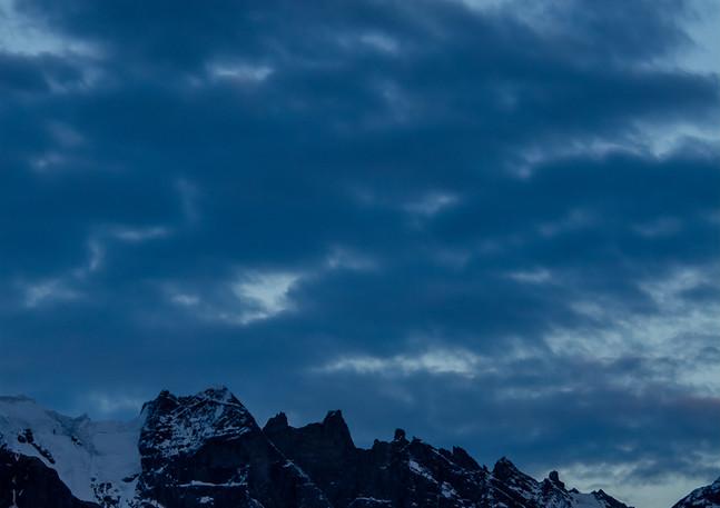 Moonlight on Patagonia