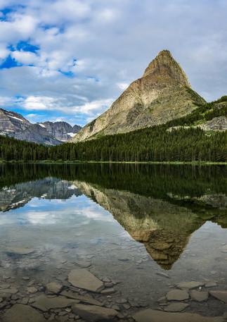 Swift Current Lake Reflection