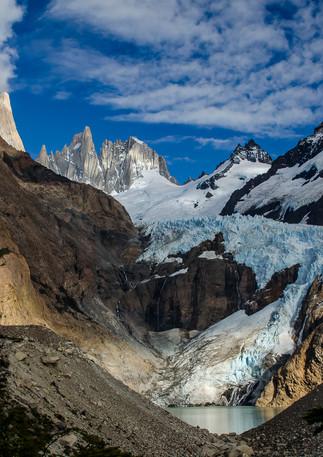 Mt. Fitz Roy Glacier View 1