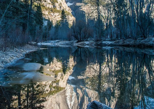 Yosemite Falls Reflection 1
