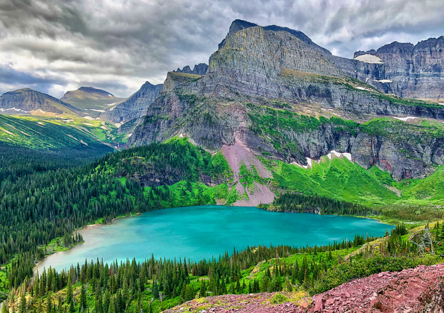 Grinnell Lake View