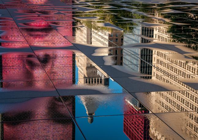 Michigan Avenue Reflection