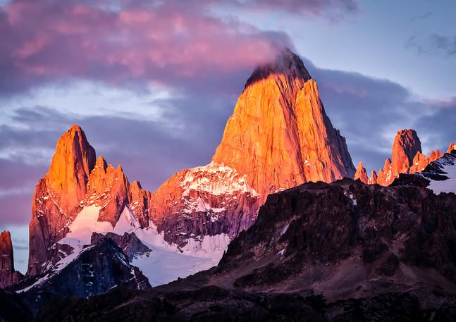 Mt. Fitz Roy Sunrise 3