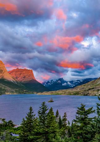 St. Mary's Lake Sunrise 2