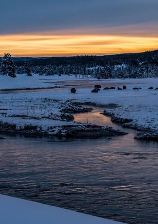 Madison River Sunrise