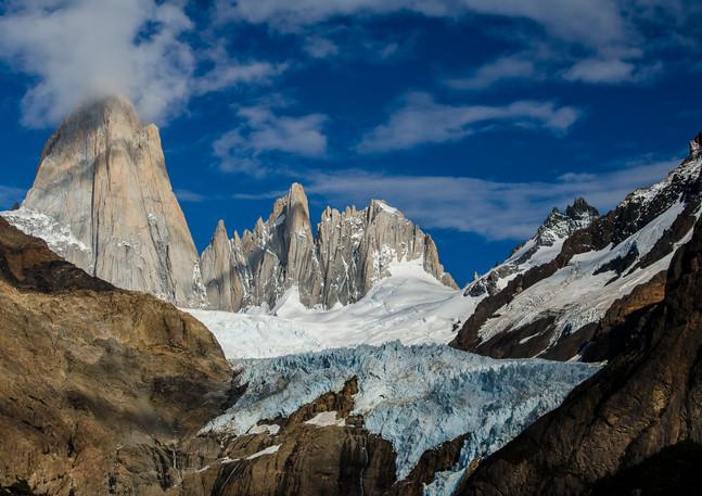Mt. Fitz Roy Glacier View 2