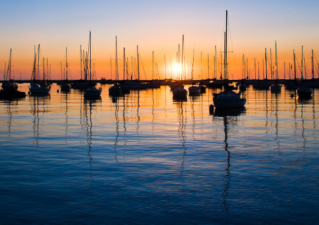 Monroe Harbor Sunrise