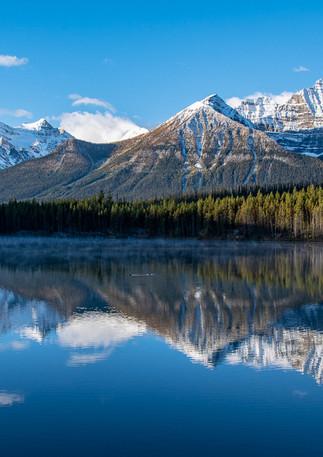 Canadian Rockies Reflection