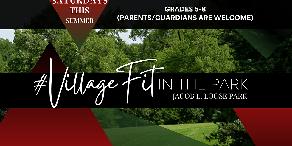 #VillageFit in the Park with Coach Mario!