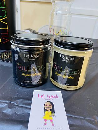 #VillageLit Candle