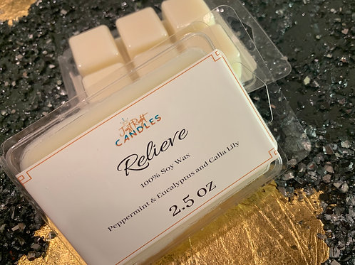 Relieve- Just Right Candle Collection