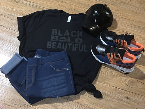 Black. Bold. Beautiful. Tee