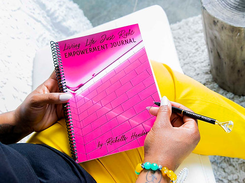 Living Life Just Right Empowerment Journal/Pen