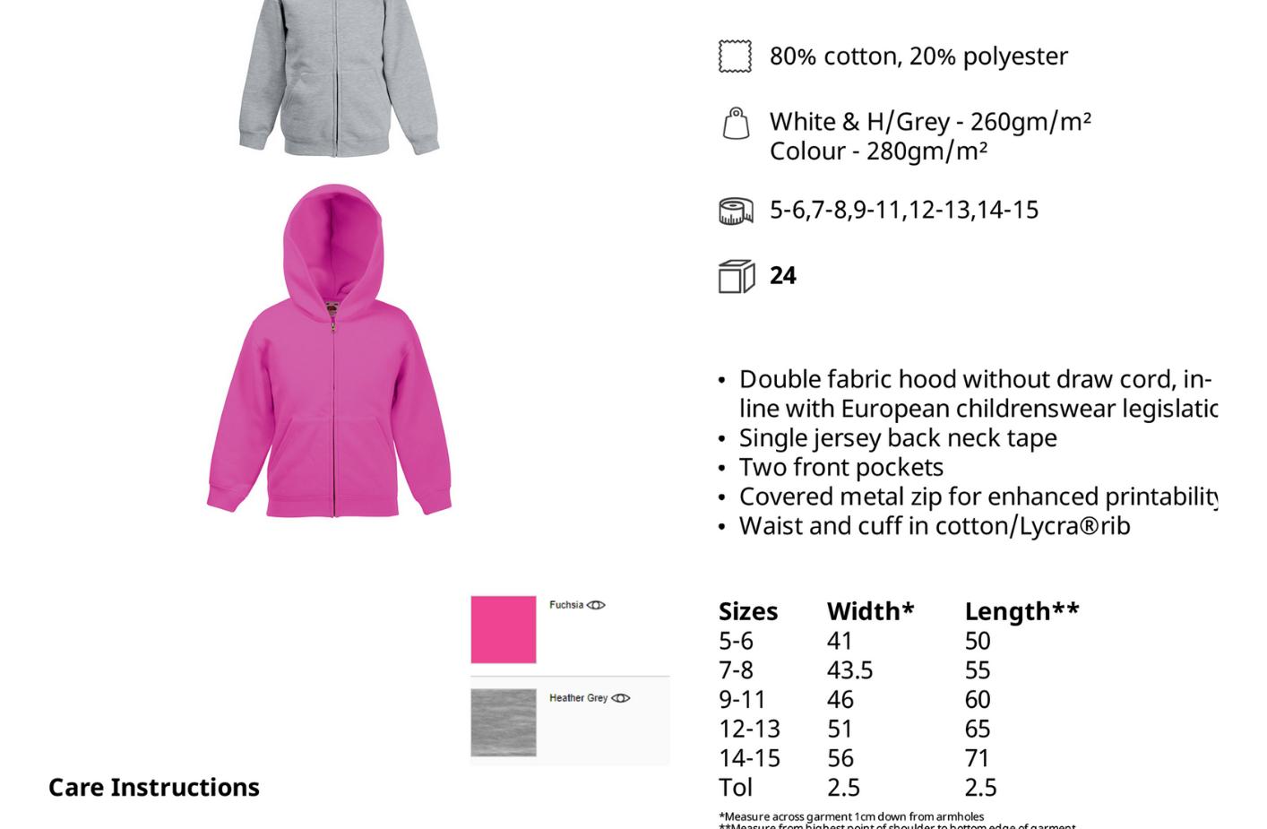 Kapucnis - cipzáros pulóver