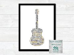 Guitar Irish Bands and Artists Wall Art